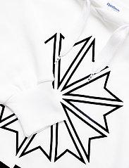 Reebok Classics - CL FL BIG LOGO HOODIE - hupparit - white - 2
