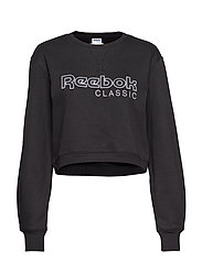 CL FL REEBOK CREW - BLACK
