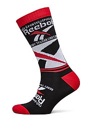 CL GR Vector Crew sock - BLACK