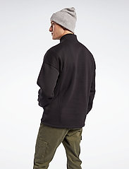 Reebok Classics - CL F HALFZIP SWEATER - basic-sweatshirts - black - 3