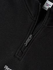 Reebok Classics - CL F HALFZIP SWEATER - basic-sweatshirts - black - 4
