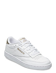 CLUB C 85 - WHITE/GOLDMT/WHITE