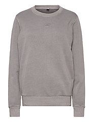 CL F WASHED CREW - GRAGRY