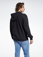 Reebok Classics - CL CAMPING GRAPHIC HOODIE - hoodies - black - 3