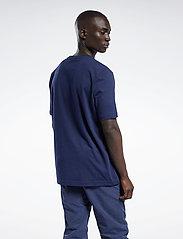 Reebok Classics - CL F VECTOR TEE - t-shirts - vecnav/white/vecred - 3