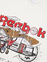 Reebok Classics - CL INTL TEE EAST - t-shirts - chalk - 4