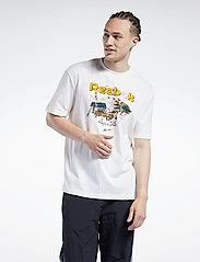 Reebok Classics - CL INTL TEE SOUTH - t-shirts - chalk - 0
