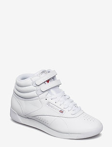 Freestyle Hi W - sneakersy wysokie - white/silver