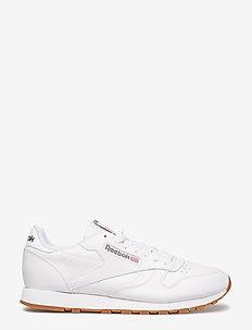 Classic Leather - niedriger schnitt - white/gum