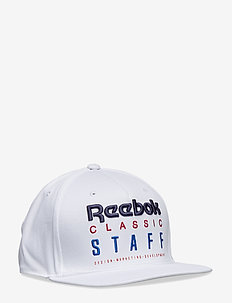 CL Staff 6 panel cap - WHITE