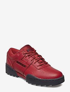WORKOUT RIPPLE OG - low top sneakers - meteor red/true grey