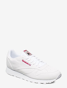 CL LEATHER MU - WHITE/GREY/RED/BLACK