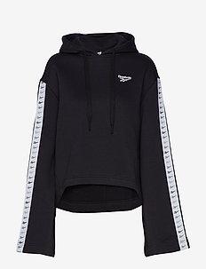 CL V P HOODIE - bluzy z kapturem - black