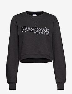 CL FL REEBOK CREW - sweatshirts - black