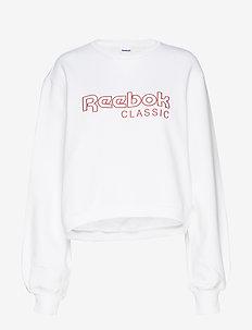 CL FL REEBOK CREW - bluzy - white