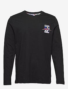 CL INTL SPORT LS TEE - bluzki z długim rękawem - black