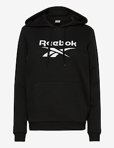 CL F BIG LOGO HOODIE FT - hettegensere - black