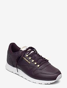 CL LTHR - lave sneakers - midsha/magold/white