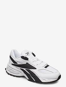 EVZN - lav ankel - white/black/white