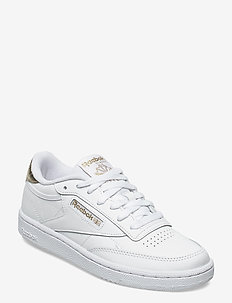CLUB C 85 - lage sneakers - white/goldmt/white