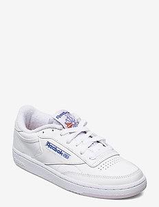 CLUB C 85 - matalavartiset tennarit - white/lumlil/coublu