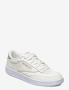 CLUB C 85 - low top sneakers - chalk/golbro/ftwwht