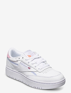 Club C Double W - low top sneakers - ftwwht/cdgry2/ornflr