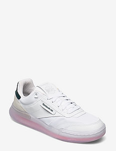 CLUB C LEGACY - sneakers - white/twicor/forgrn