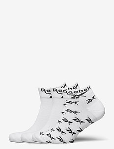 CL FO Ankle Sock 3P - ankelstrumpor - white
