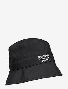 CL FO Bucket Hat - emmer hoeden - black/black