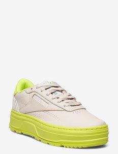 Club C Double GEO - lave sneakers - stucco/stucco/aciyel
