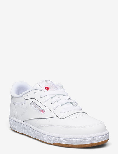 CLUB C 85 - low top sneakers - white/light grey/gum