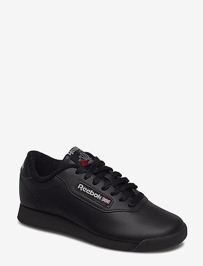 PRINCESS - lage sneakers - black