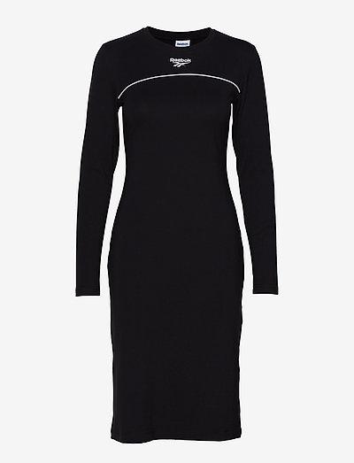 Reebok Classics Cl V P Cotton Dress- Sukienki Black