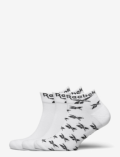 CL FO Ankle Sock 3P - kousen - white