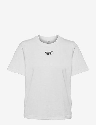 CL F SMALL LOGO TEE - t-paidat - white/black
