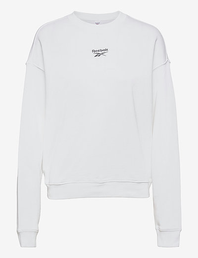 CL PF SMALL LOGO CREW - sweatshirts - white
