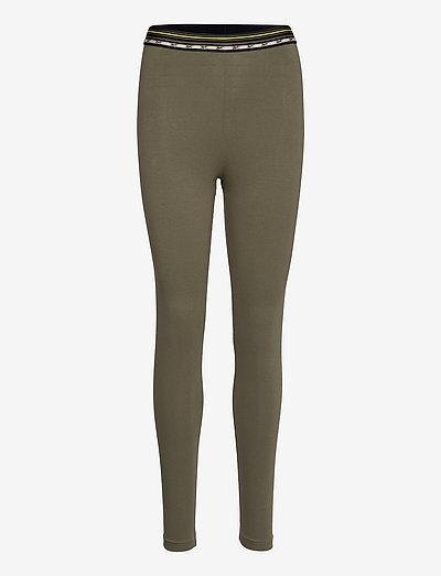 CL CAMP HR LEGGING - leggings - armygr