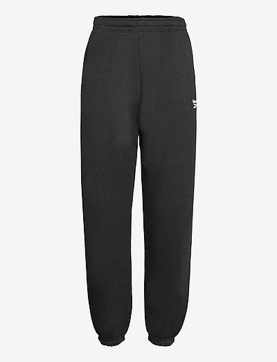 CL WDE COZY FLEECE PANT - collegehousut - black