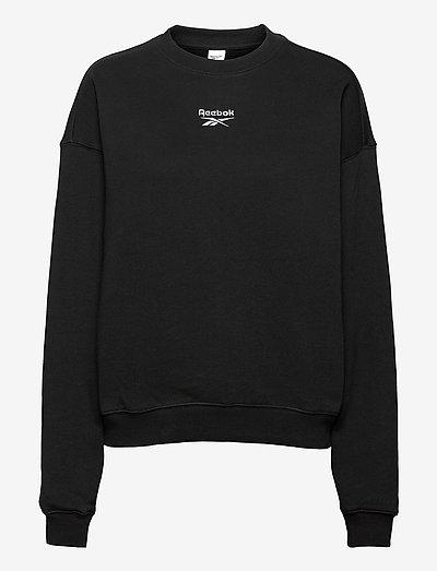 CL PF SMALL LOGO CREW - sweatshirts - black