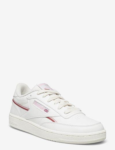 CLUB C 85 VEGAN - lage sneakers - chalk/pnkglw/bakear