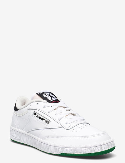 CLUB C 85 - lave sneakers - ftwwht/chalk/vecred