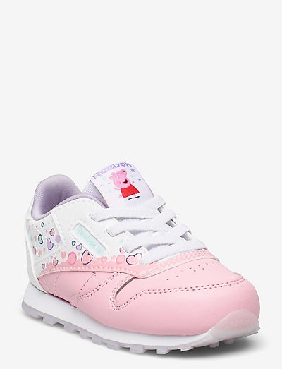 CL LEATHER - laag sneakers - ltpink/ftwwht/purglo