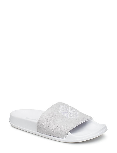 REEBOK CLASSIC SLIDE - WHITE/LGH SOLID GREY