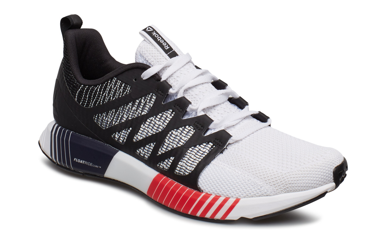 Reebok Performance FUSION FLEXWEAVE CAGE - BLK/WHT/RED/GRY