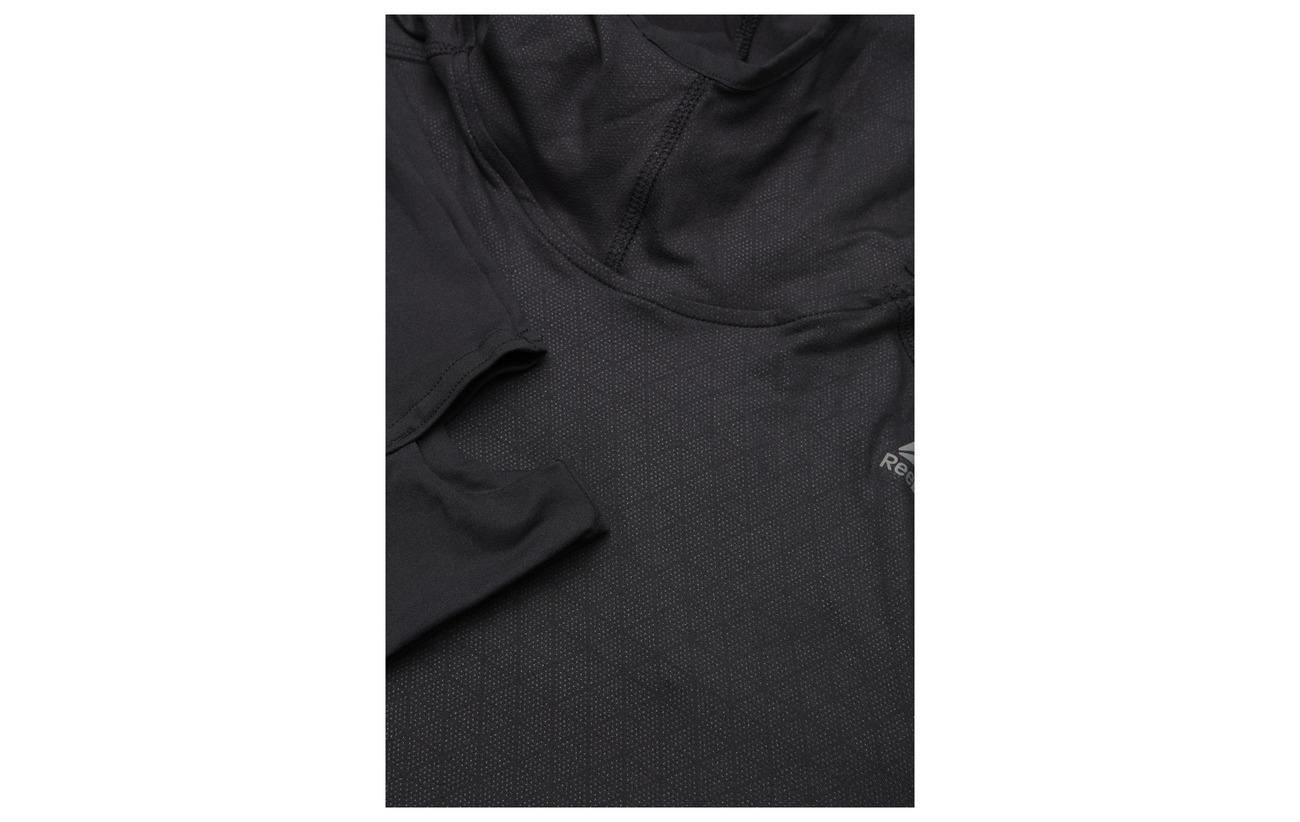 Reebok Polyester Black 86 14 Hoodie Scuba Elastane Thermo T Os wUwxrqA1gO