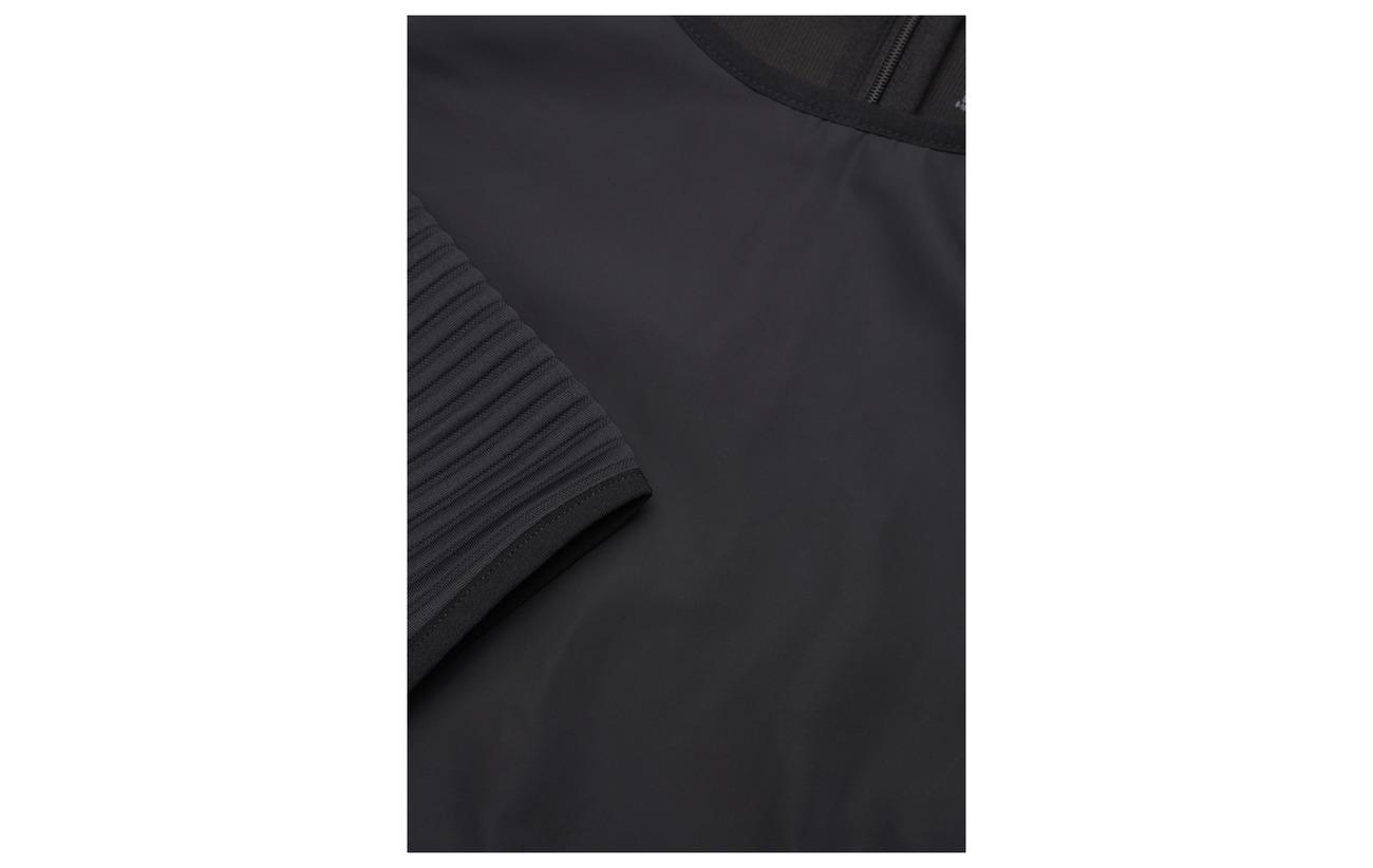 Thermo Dp Os Reebok 100 Black Polyester Crew Neck Aq8USWn5P