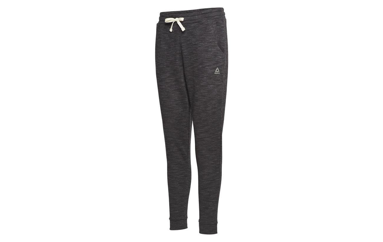 Marble Te Pant Coton Polyester 30 Black Reebok 70 aCZ5xqxw