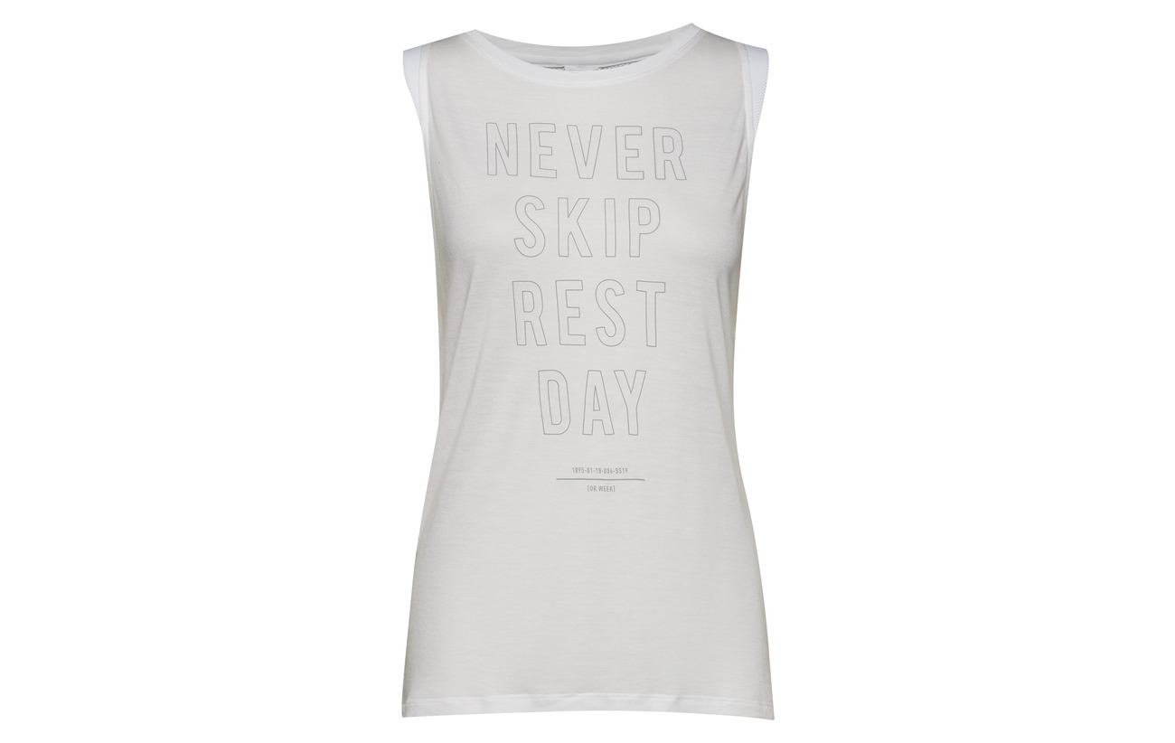 White Acrylique Ts Reebok Muscle Modale Tank Graphic 50 SqnpPpzgF