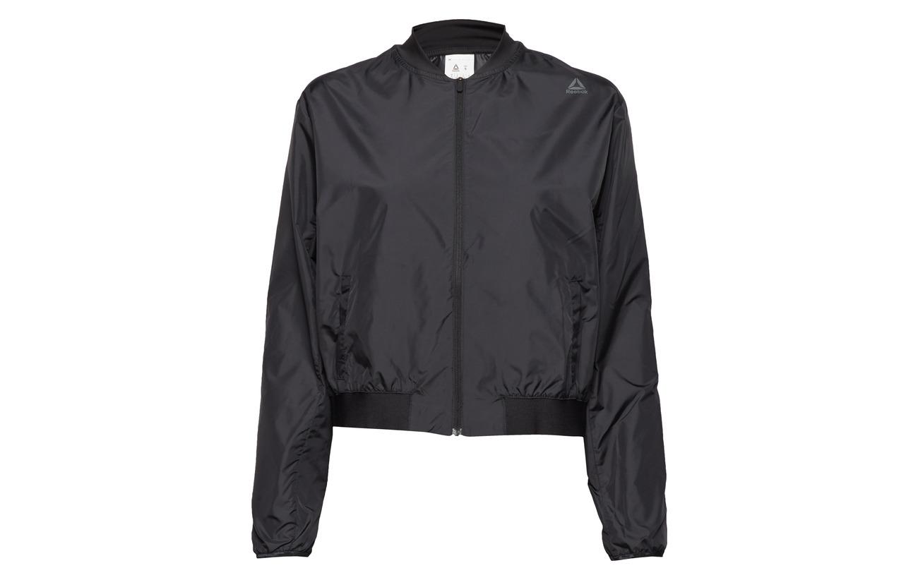 Polyester Comm Jckt Black Wor 100 Woven Reebok tA5wzYqn